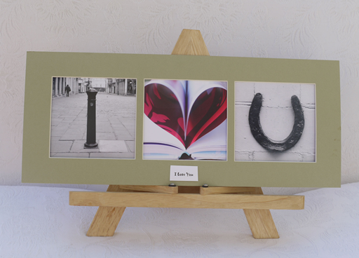 I love you photo montage created by bespoke love